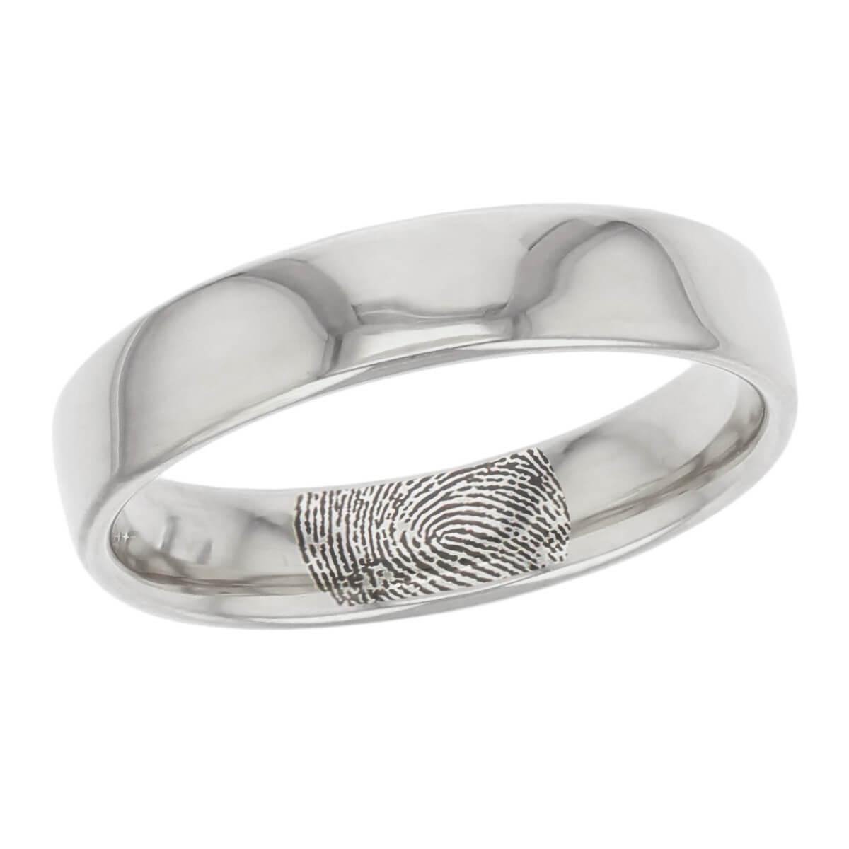 التجزئه صنعت لتتذكر المخلفات Fingerprint Wedding Ring Cabuildingbridges Org